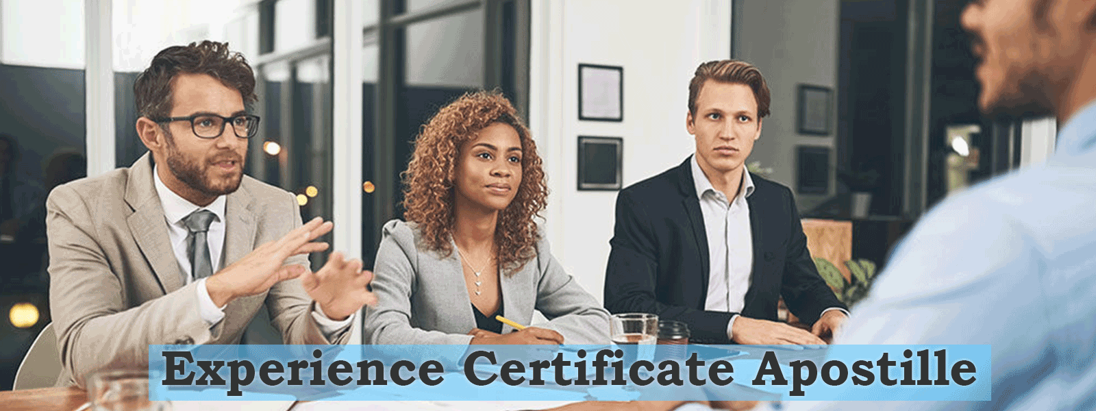 EXPERIENCE CERTIFICATE APOSTILLE